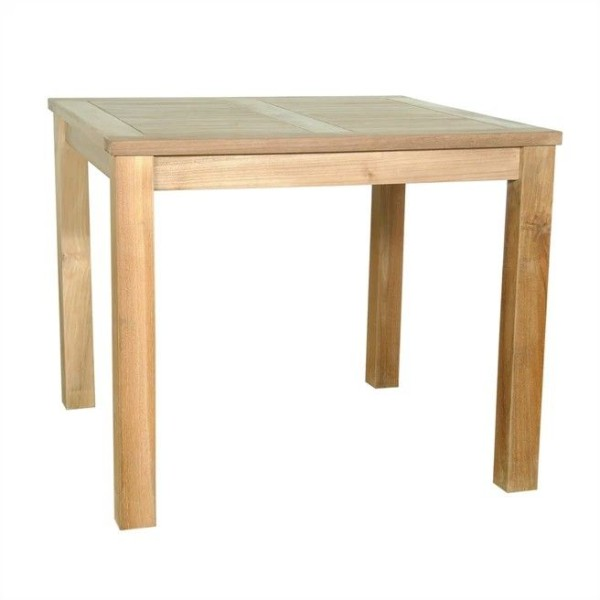 "Teak 35"" Square Bistro Table"