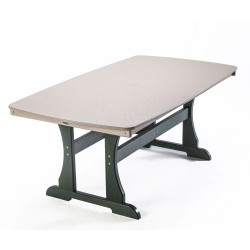"""Traditional Dining Height 72"""" Table"""