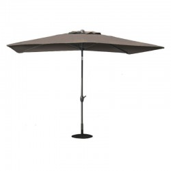 Outdoor Rectangle 6.5' x 10' Umbrella with Tilt and Crank