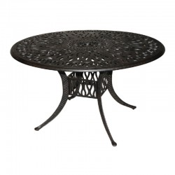 "48"" Round Floral Dining Table"
