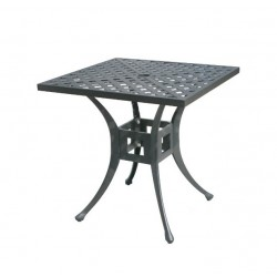 "36"" Square Basket Weave Dining Table"