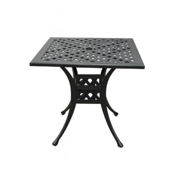 """30"""" Square Basket Weave Dining Table"""