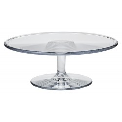 Polycarbonate 11.5 in Dia. x 4 in H. Cake Stand