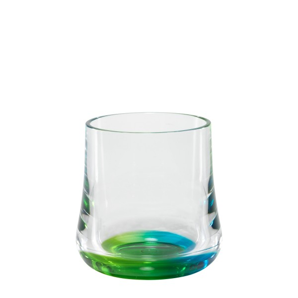 Reflections Peacock Rocks Glass - Set of 6