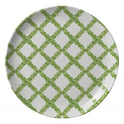 Topiary Trellis Melamine Dinner Plate - Set of 6