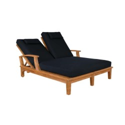 Brianna Double Chaise Sun Lounger