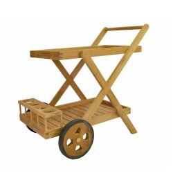 Teak Serving Trolley