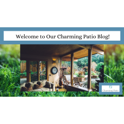 Welcome to Our Charming Patio Blog!