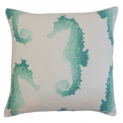 Xenos Turquoise Indoor / Outdoor Throw Pillow